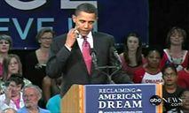 Obama Scratching